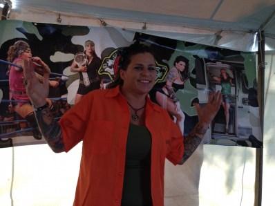 Jessie Kresa at Alumapalooza