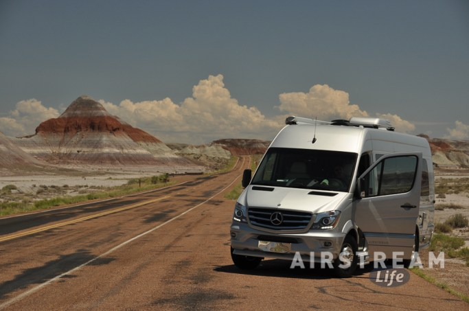 Petrified Forest Airstream Interstate
