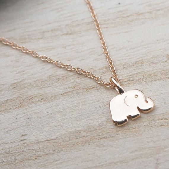 Elephant Good Luck Necklace 2