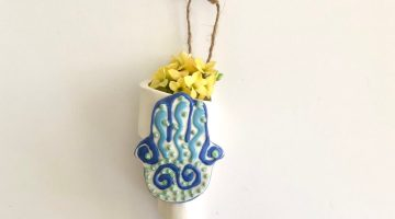 Hamsa Home Wall Decor for Blessing and Luck