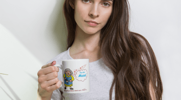 Bubbe-You-Got-Mazel-red_mockup_Woman_Lifestyle_11oz