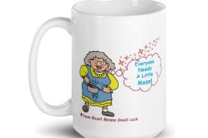 Mug of Luck Everyone Needs Mazel