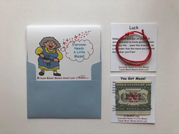 Lucky Red String Bracelet. The Scarlet Thread of Hope.