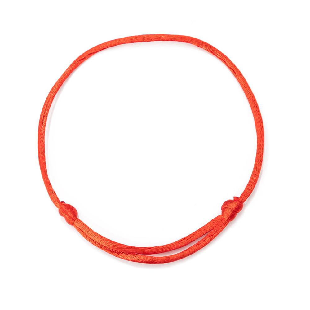 red string bracelet adjustable 7