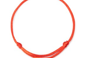 red string bracelet adjustable 7