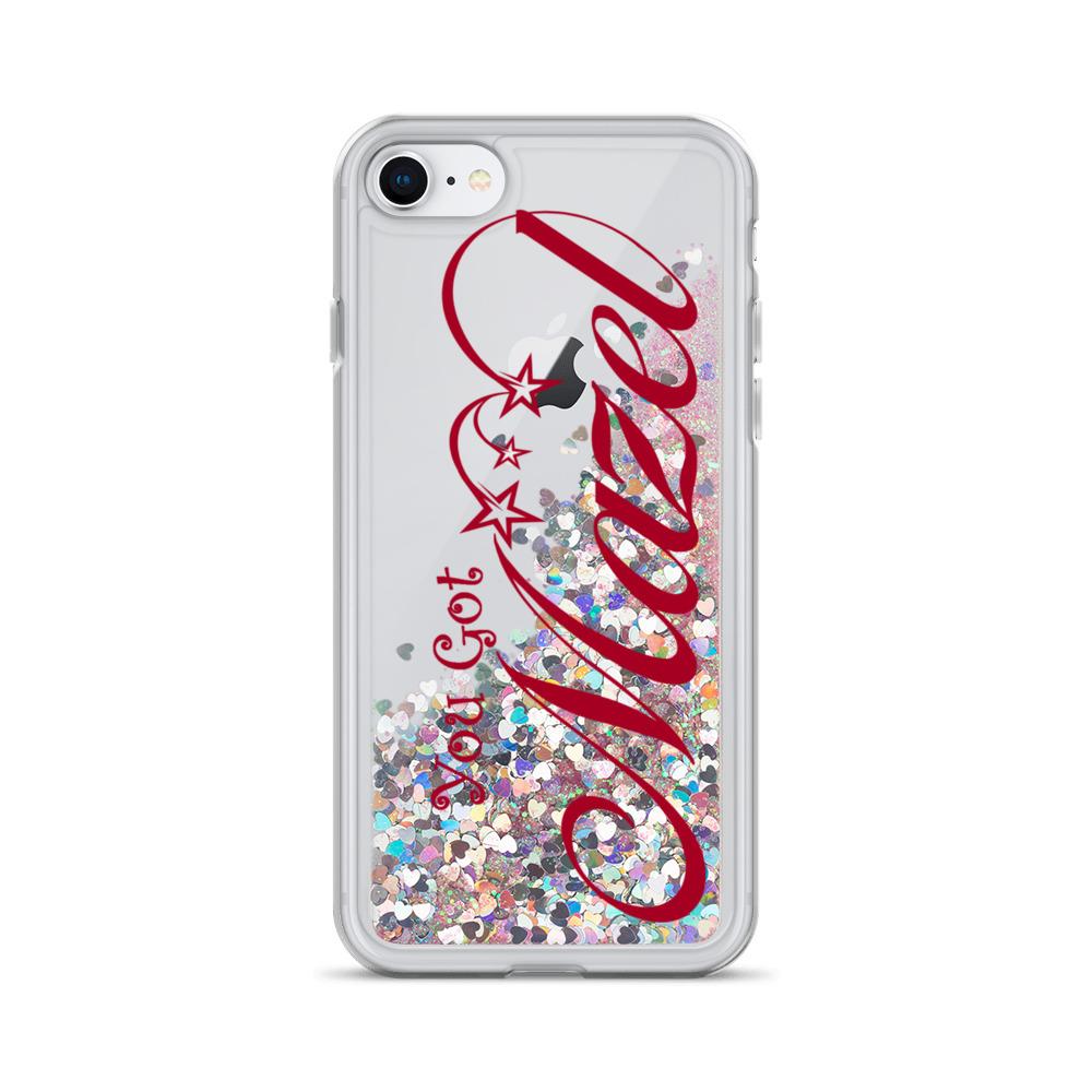 You Got Mazel Liquid Glitter Phone Case