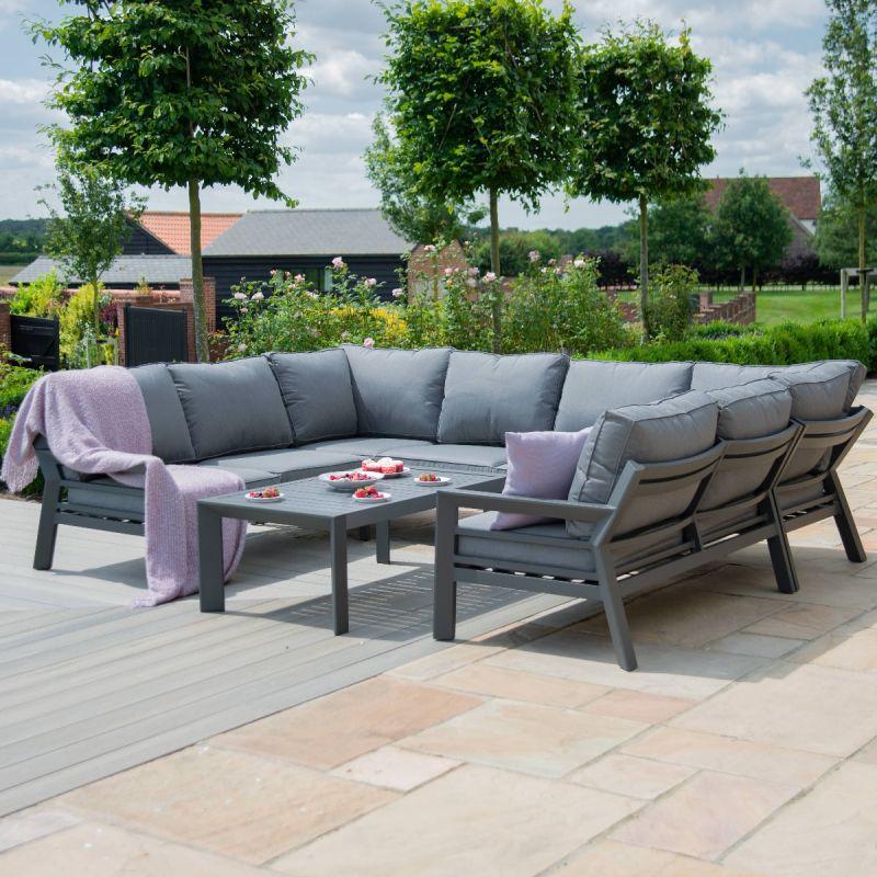https mazeliving co uk maze rattan new york u shaped sofa set