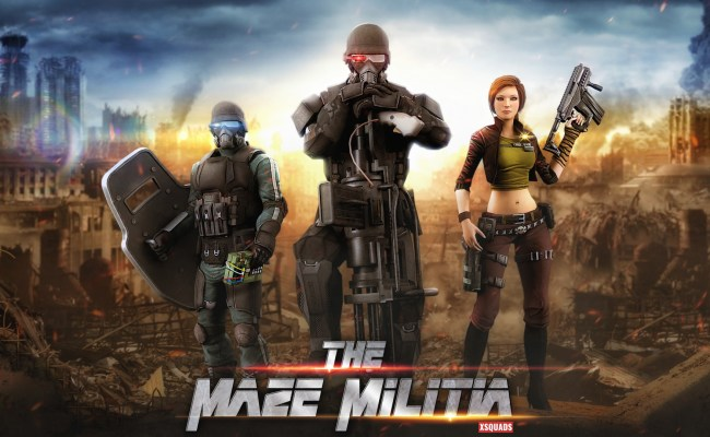 The Maze Militia Lan Online Multiplayer Shooting Game