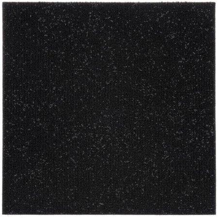 peel stick carpet tiles jet black