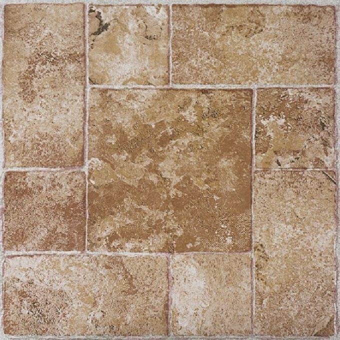 self stick vinyl flooring beige terracotta 20 tiles per box