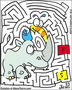 Rhino Maze