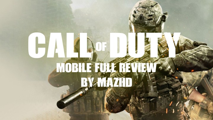 call of duty mobile Full Review wallpaper with texts