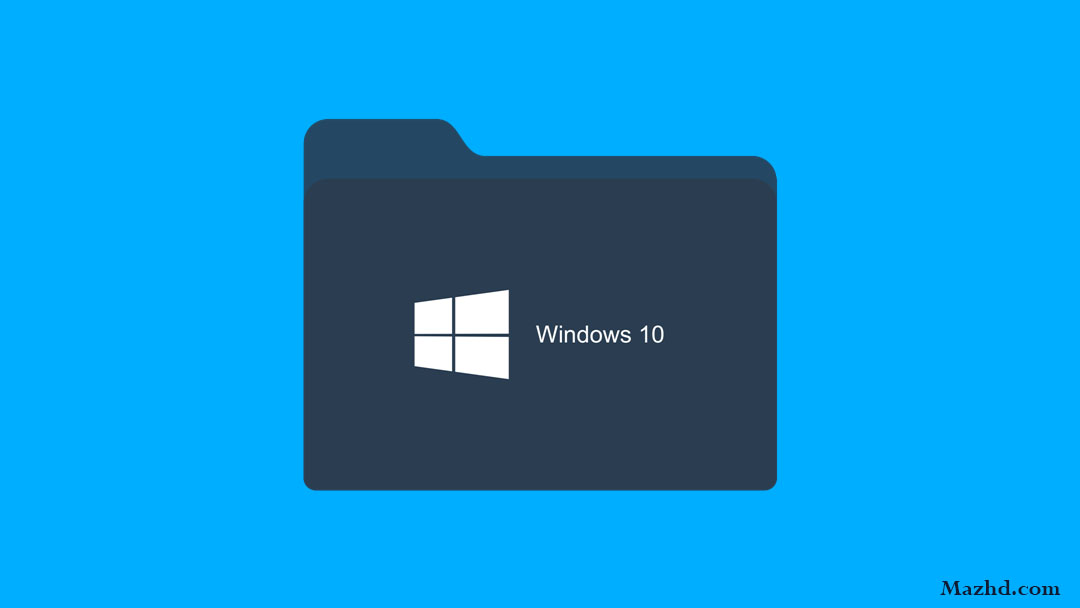 This picture is the featured image of the article how to hide files on windows 10.