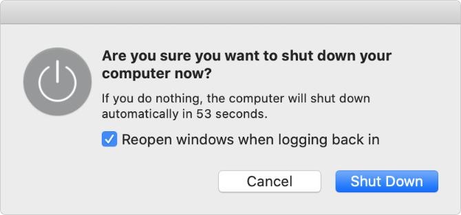 force shut down window from Mac OS