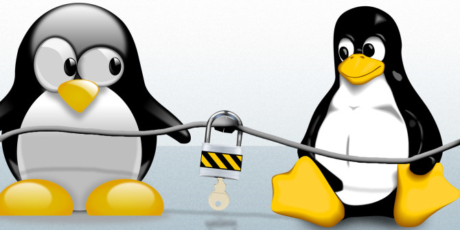 This is the featured image of article how to set up SSH on Linux.