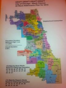 Chicago Aldermanic Black Caucus Proposes Ward Maps