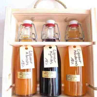Coffret liqueur ou eau-de-vie Coffret liqueur artisanale