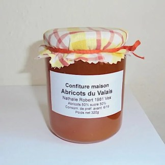 mazot de vex confiture abricot artisanale du Valais
