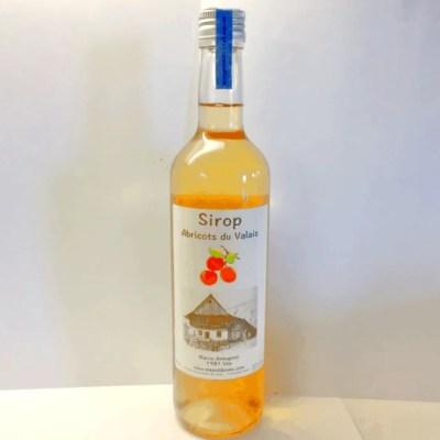 Sirop Abricots du Valais Sirops abricot