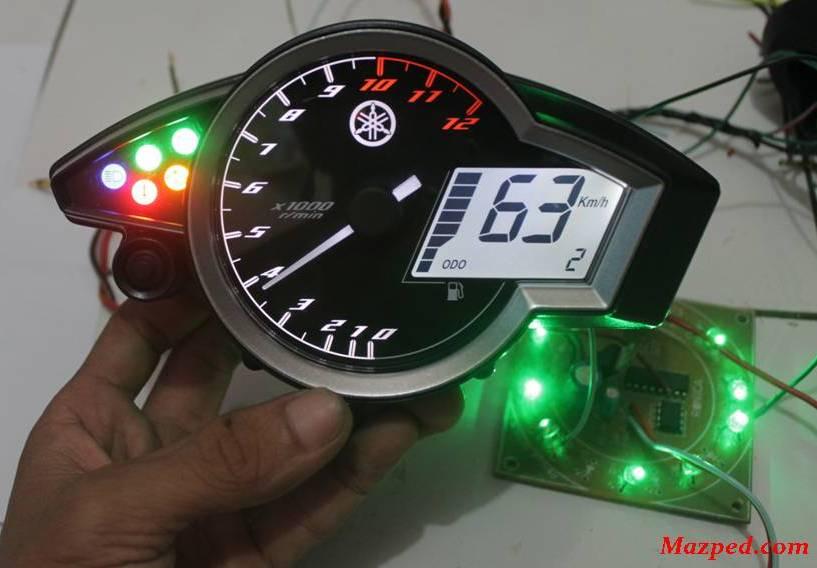 Wiring Diagram Speedometer New Megapro