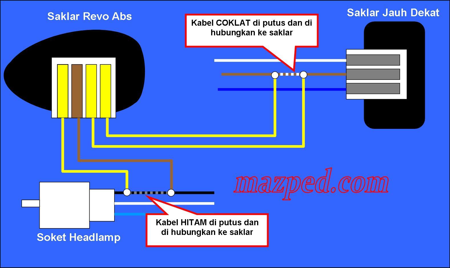 Wiring Diagram Lampu Lalu Lintas
