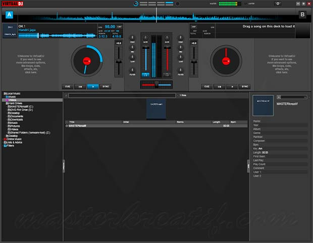 Virtual DJ Pro Infinity 2020 Crack + Activation Key