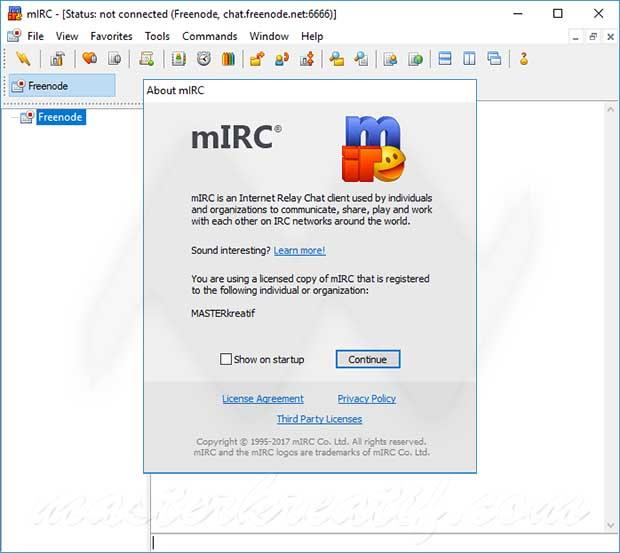 mIRC Crack With Product Key