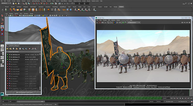 Golaem Crowd 7.3 for Maya Crack With Activation Code