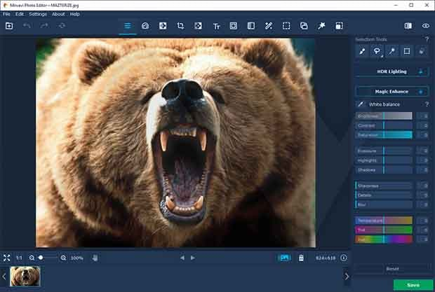 Movavi Photo Editor Crack With License key