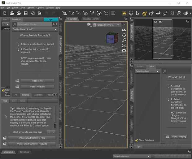 DAZ Studio Pro Edition Crack With Serial Key