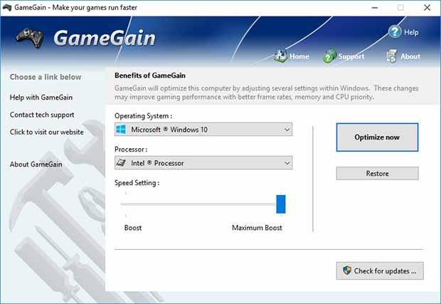 PGWARE GameGain full Version Download