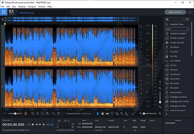 iZotope RX 8 Audio Editor Advanced Crack Keygen