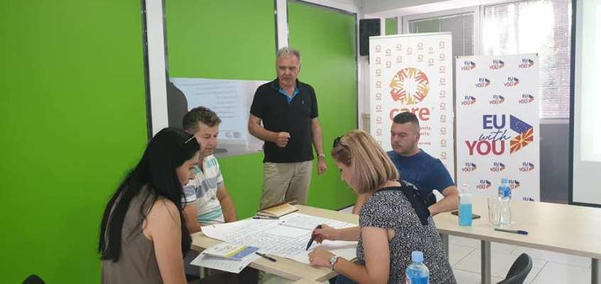 """Успешно завршен """"Тренинг на тренери за подготовка и анализа на бизнис план"""" за вработените лица во МАЗЗ"""