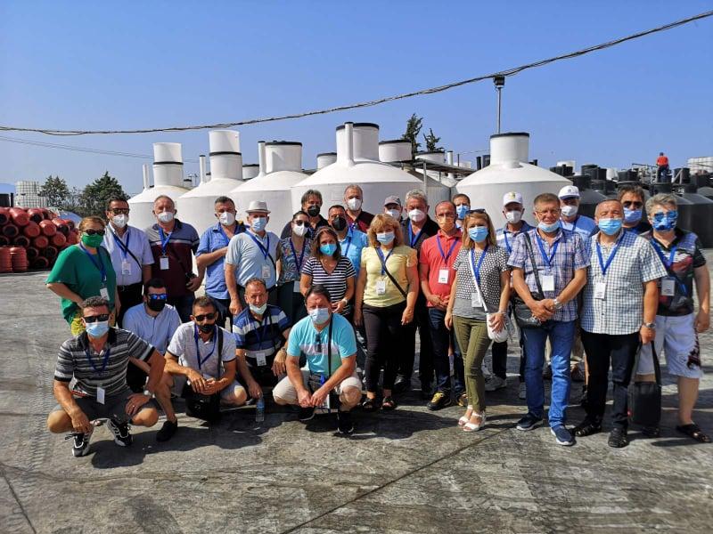 Членките на МАЗЗ дел од студиската посета на земјоделски задруги во Р.Грција