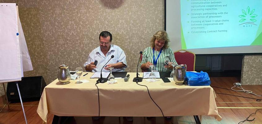 Потпишан Меморандум за соработка помеѓу Македонската асоцијација на земјоделски задруги и Асоцијацијата на земјоделски задруги од Иматиа, Р. Грција