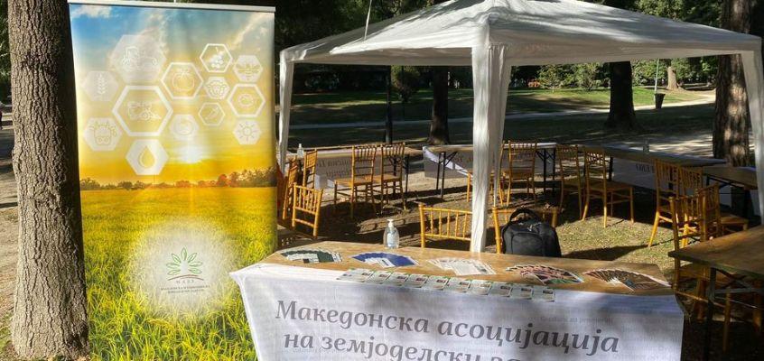 Македонската асоцијација на земјоделски задруги дел од  овогодинешниот фестивал на граѓански организации на Цивика Мобилитас програмата.