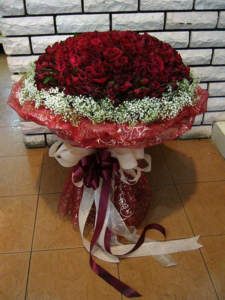 365 Roses Mazzo Di Fiore