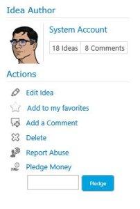 Pledge Money