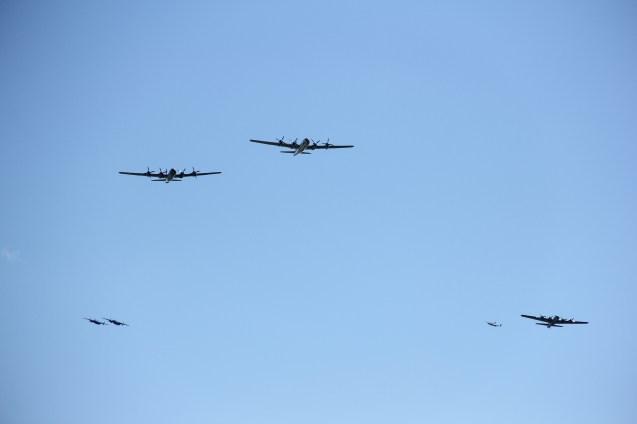 Various Bombers