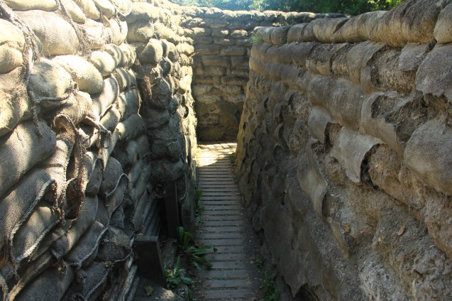 Real WWI Trench (Yorkshire Trenches)