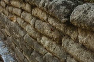 WWI Wall of Sandbags