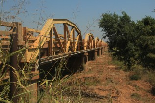 The Pony Bridge (Longest Truss Bridge on Route 66) - Geary, OK