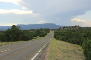 Road to Santa Fe, New Mexico