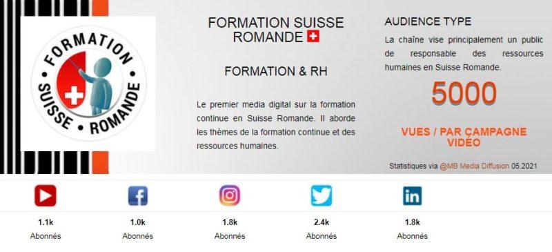 Formation Suisse Romande