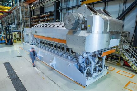 Wärtsilä will Gasmotoren mit 100 % Wasserstoff betreiben