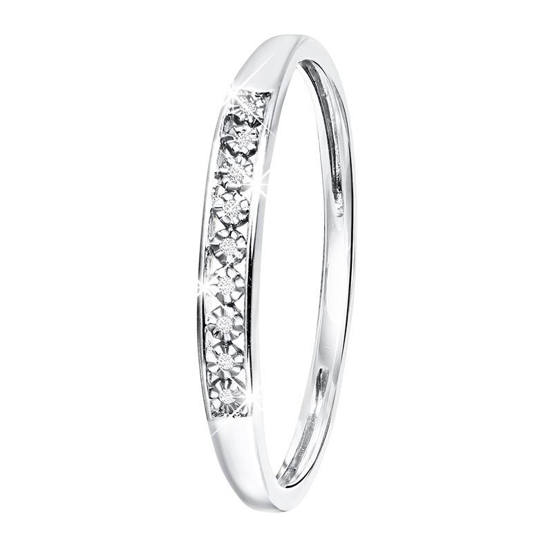 Ring Weissgold Diamant
