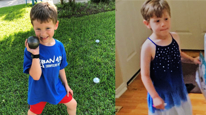 Mother Allegedly Forces Son To Dress As