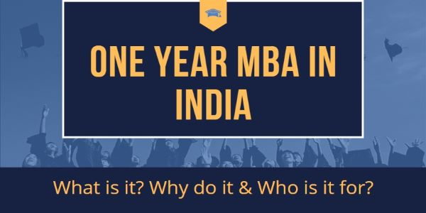 One/1 Year MBA Programs in India are quite affordable as the course duration is less. Hence, you can either choose a regular course or an executive program.