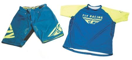 Fly Racing Super D Jersey & Radium Shorts