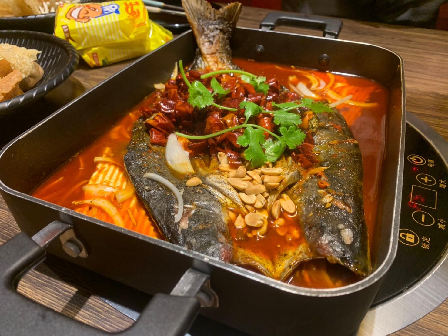 桃園。億魚麻辣鍋   重慶烤魚   中壢晚餐